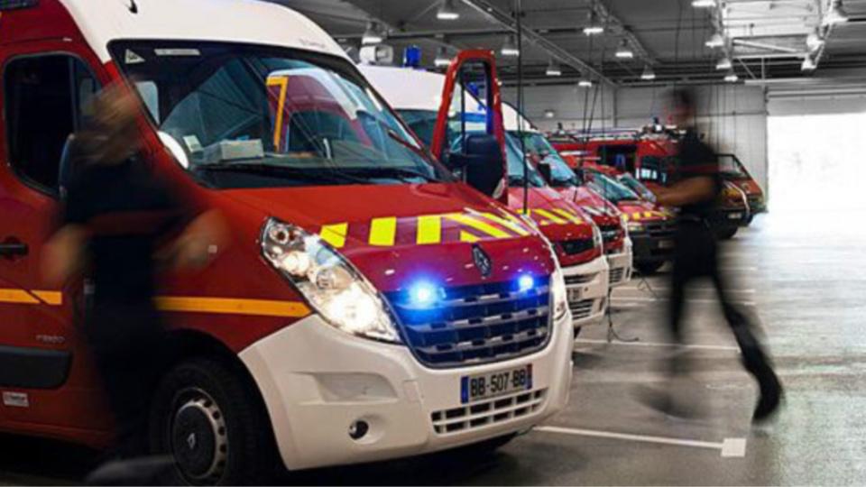 Les victimes ont été transportées à l'hôpital par les sapeurs-pompiers (Illustration)