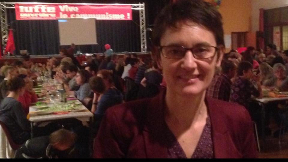 Nathalie Arthaud est candidate à l'élection présidentielle (Photo@DR)