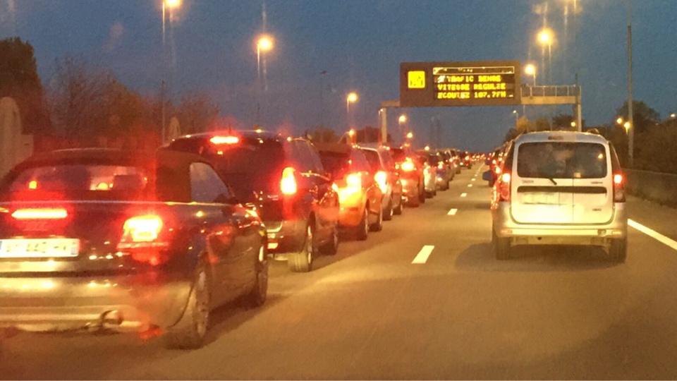 Les difficultés de circulation commenceront dès jeudi soir, en particulier sur l'A 13 en direction de la Normandie (Photo@infonormandie)