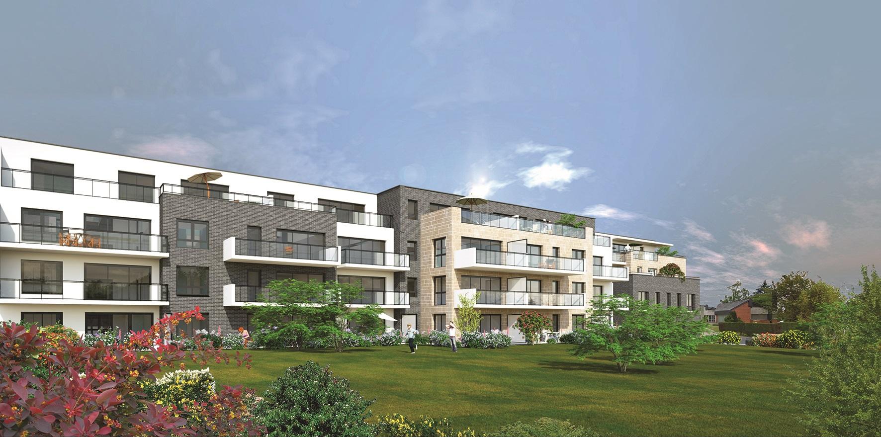 Perspective de ce que sera la future résidence Carré d'Or (Illustration@DR)
