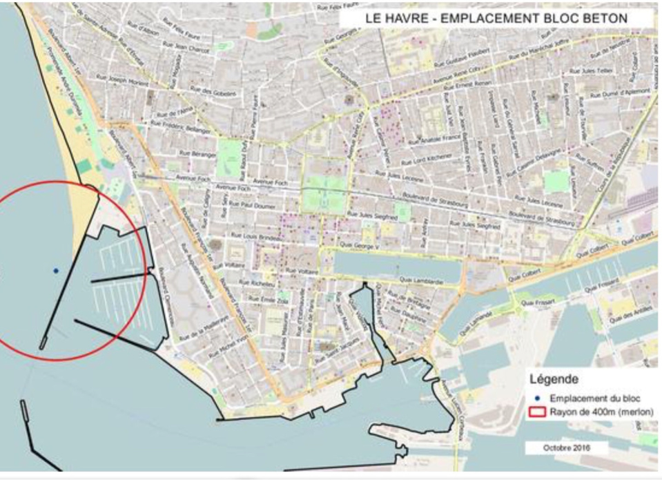 La plage du Havre neutralisée pour une opération de déminage lundi 14 novembre
