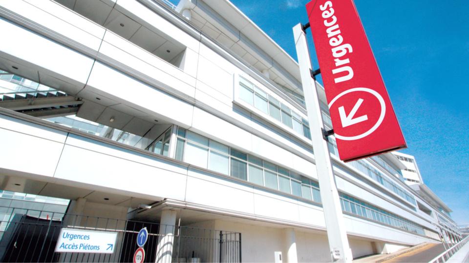 La victime a été admise aux urgences de l'hôpital Georges Pompidou (Illustration)