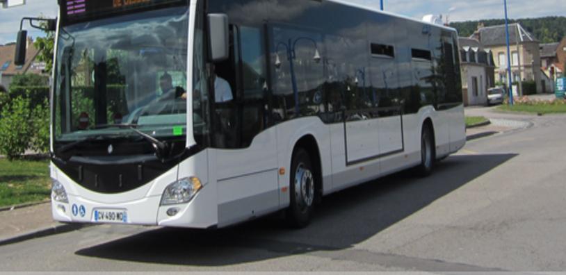 Le passager a l'origine des menaces était monté dans le bus à la station Théâtre des Arts (illustration)