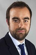 Sébastien Lecornu, président du Département de l'Eure