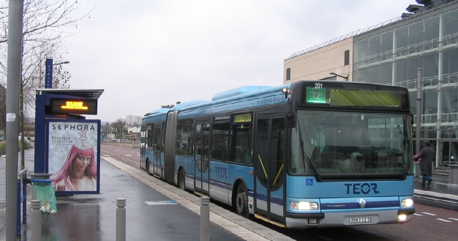 Le bus Téor était dans un couloir réservé et prioritaire au moment de l'accident, selon les premières constatations de la police (Illustration)