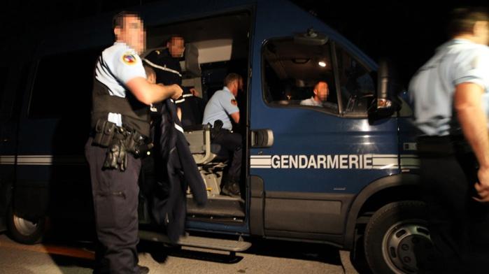 Les auteurs du cambriolage ont été interpellés rapidement dans le centre-ville de Barentin par les hommes du PSIG (Illustration)