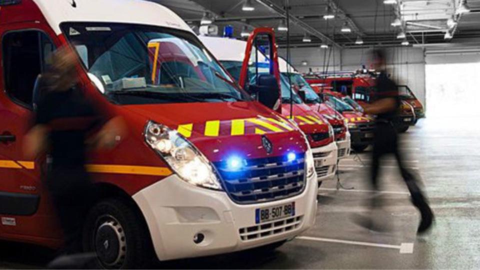 Quatre blessés dont un grave, une femme de 45 ans, ont été pris en charge par les pompiers (Illustration)