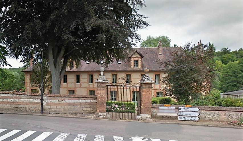 Inscrit au classement des Monuments historiques en 1973, l'ancien couvent est depuis quelques années une propriété privée à usage d'habitation (Illustration ©Google Maps)