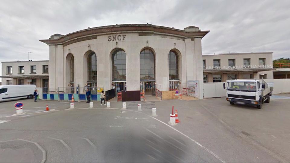 La gare de Versailles chantiers (Illustration)