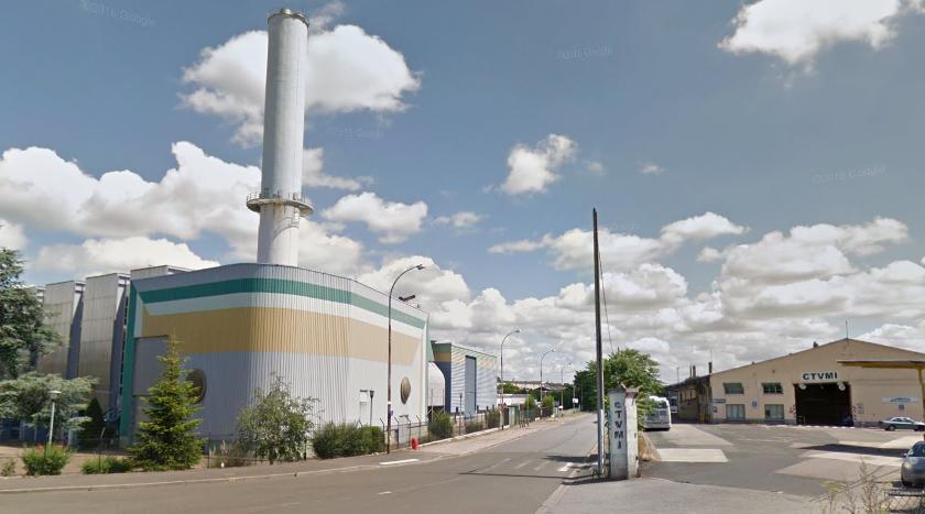 L'engin explosif de 500 kg a été découvert sur un chantier dans l'impasse Saint-Claire Déville, pas très loin des voies de chemin de fer (Illustration)
