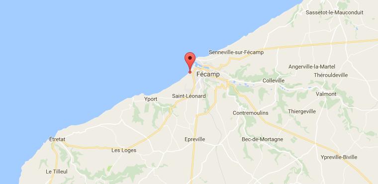 Fécamp : le corps sans vie d'une femme non identifiée découvert au pied de la falaise