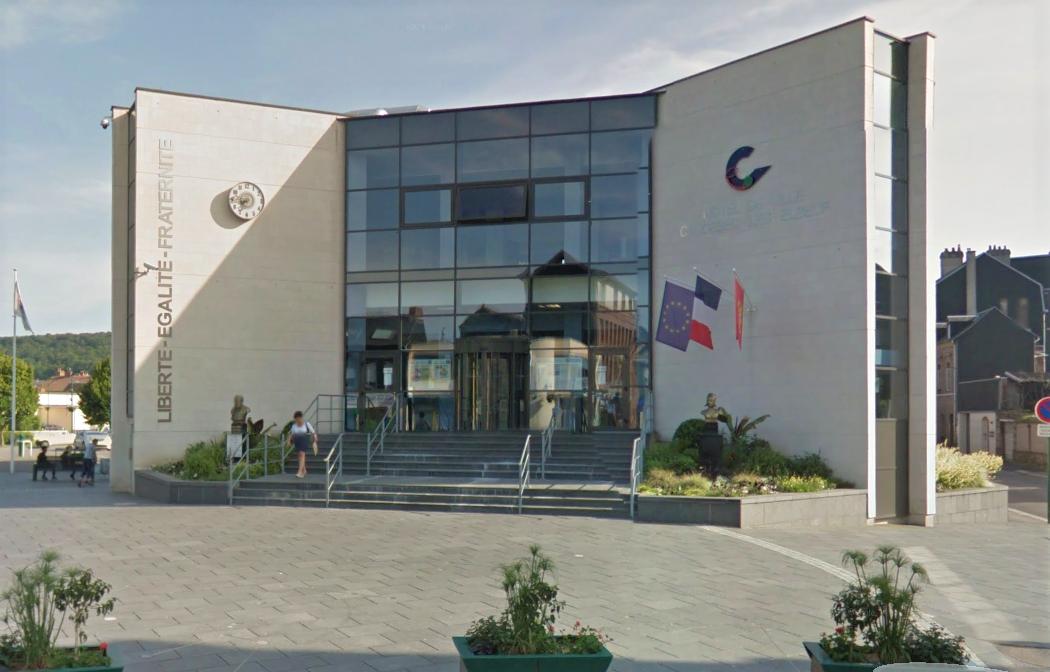 Noël Caru avait occupé le fauteuil de maire de Caudebec-lès-Elbeuf pendant près de vingt ans (Illustration©Google Maps)