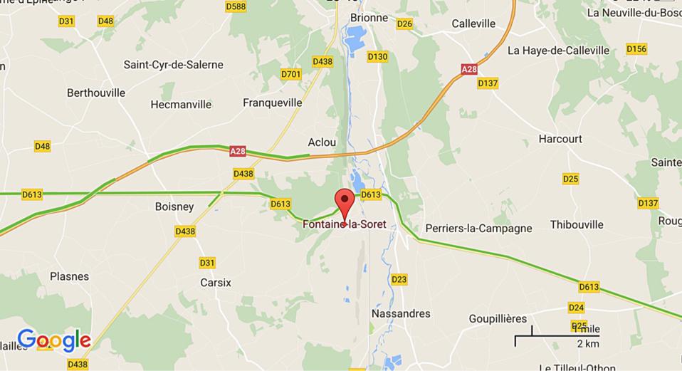 Eure : surpris dans un bois privé à Fontaine-la-Soret, le chasseur menace de tirer sur le propriétaire