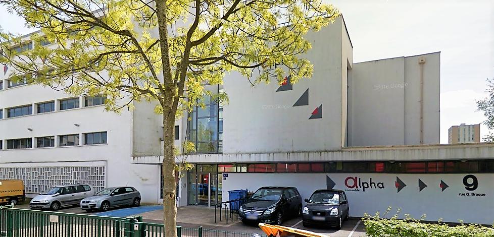 L'immeuble d'entreprises l'Alpha abrite notamment le centre de formation de La Poste (Illustration ©Google Maps)