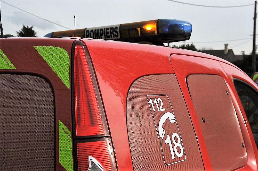 La conductrice a été désincarcérée par les sapeurs-pompiers (illustration ©infoNormandie)