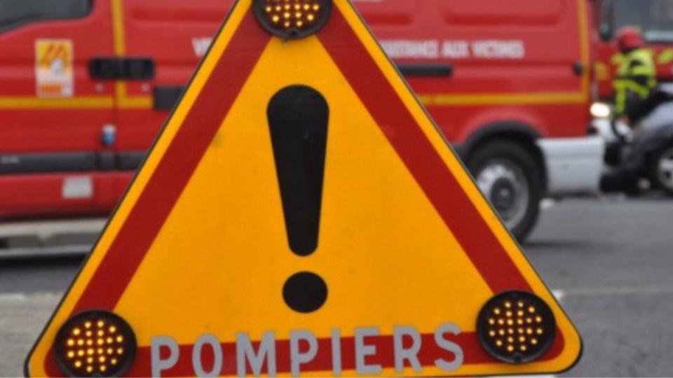 De nombreux moyens sont engagés sur les lieux du carambolage par les sapeurs-pompiers (Illustration)
