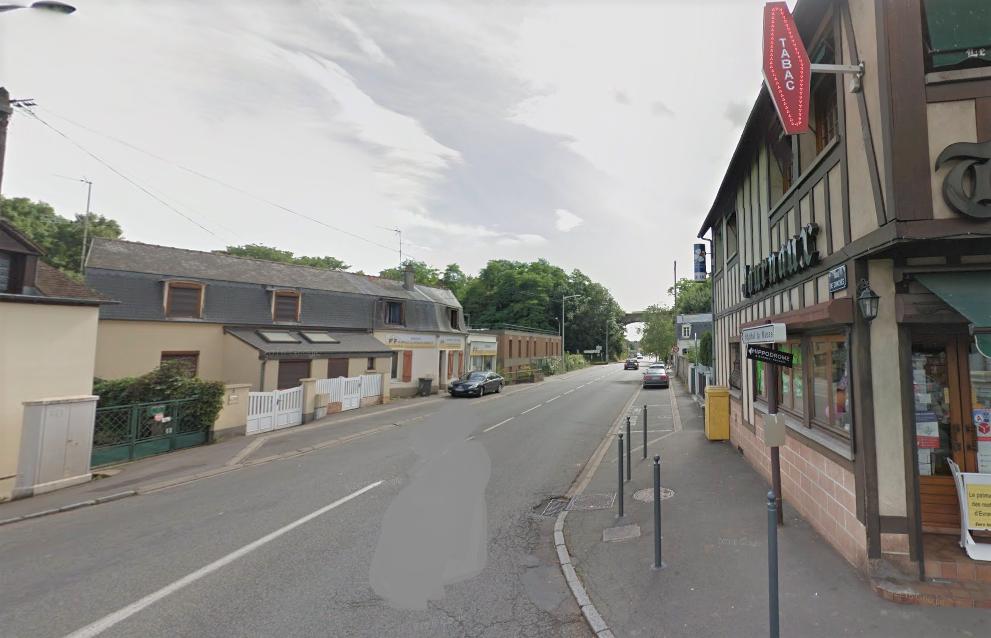 Le drame est survenu route de Conches, entre l'avenue dui Maréchal Foch et la rue Jean Bouin (Illustration ©GoogleMaps)