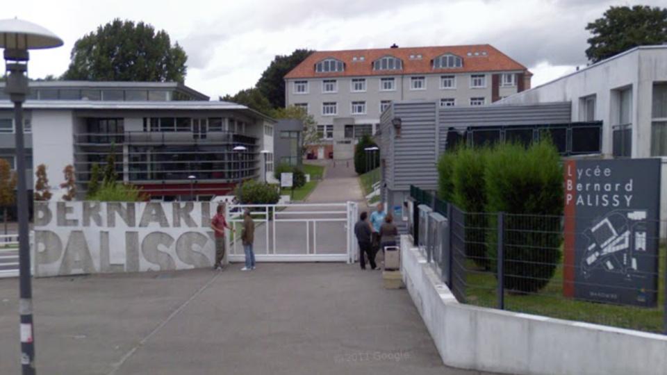 Le lycée Bernard Pavilly à Maromme