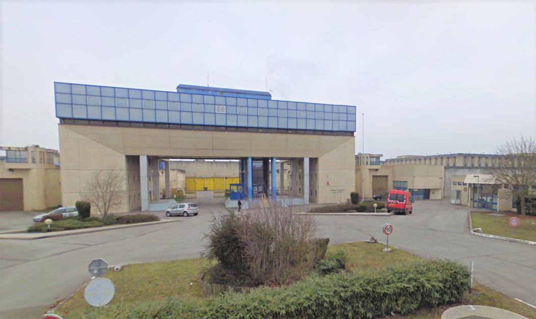 Le centre de détention des Vignettes, à Val-de-Reuil, dans l'Eure (Illustration©Google Maps)