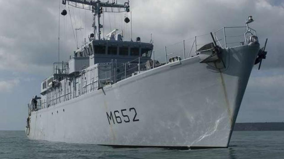 Le chasseur de mines Céphée de la Marine nationale