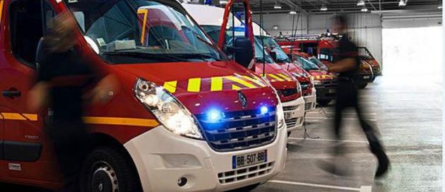 Dix sapeurs-pompiers, dont des plongeurs sauveteurs, ont été mobilisés sur cette intervention (Illustration)