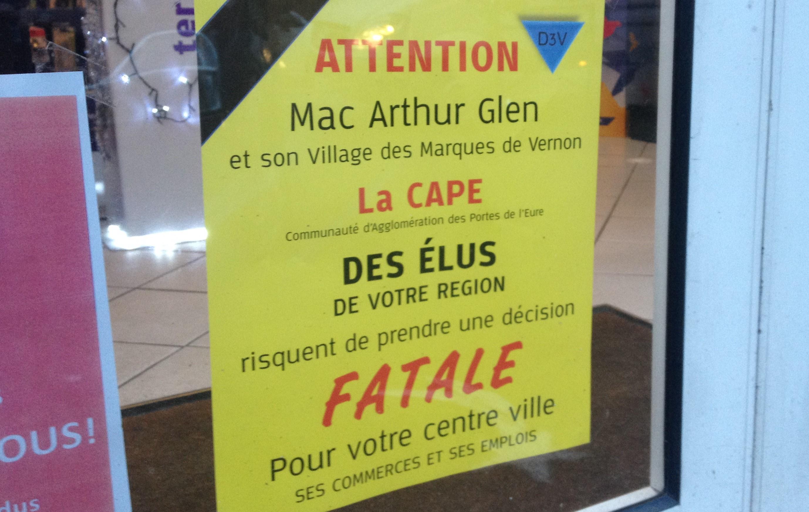 Selon les détracteurs du projet, l'implantation d'un village des marques à Douains, à 60 kilomètres de là, serait préjudiciable aux commerces du centre-ville de Rouen (Illustration©infoNormandie)