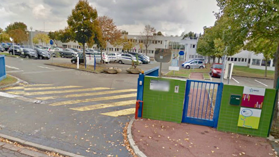 Le site d'ERDF rue du Parc abrite les locaux techniques (illustration)