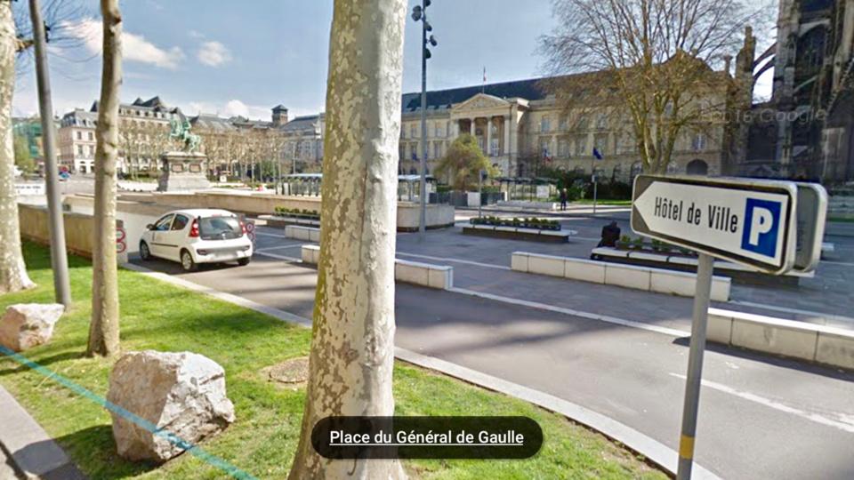 Rouen : 5 véhicules dégradés et fouillés dans le parking de l'hôtel de ville, un suspect de 17 ans interpellé