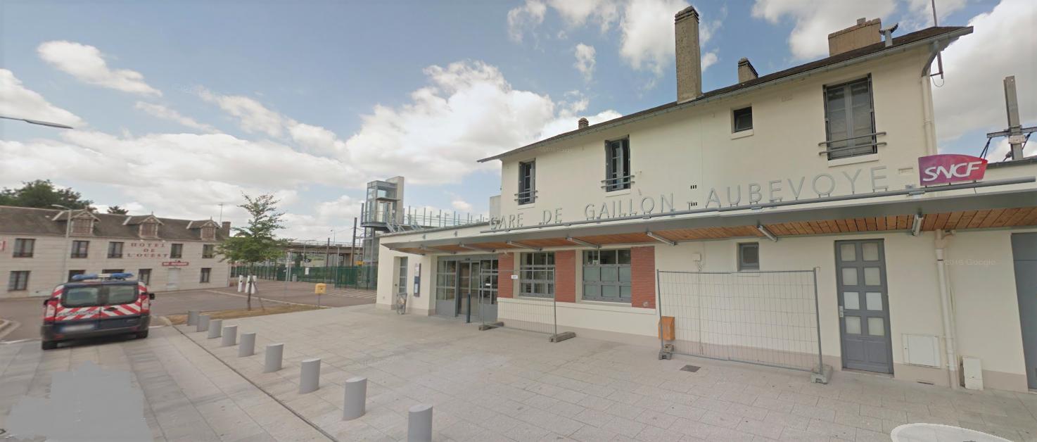 Le voyageur soupçonné de violences sur un contrôleur a été interpellé à la gare de Gaillon-Aubevoye (Illustration)