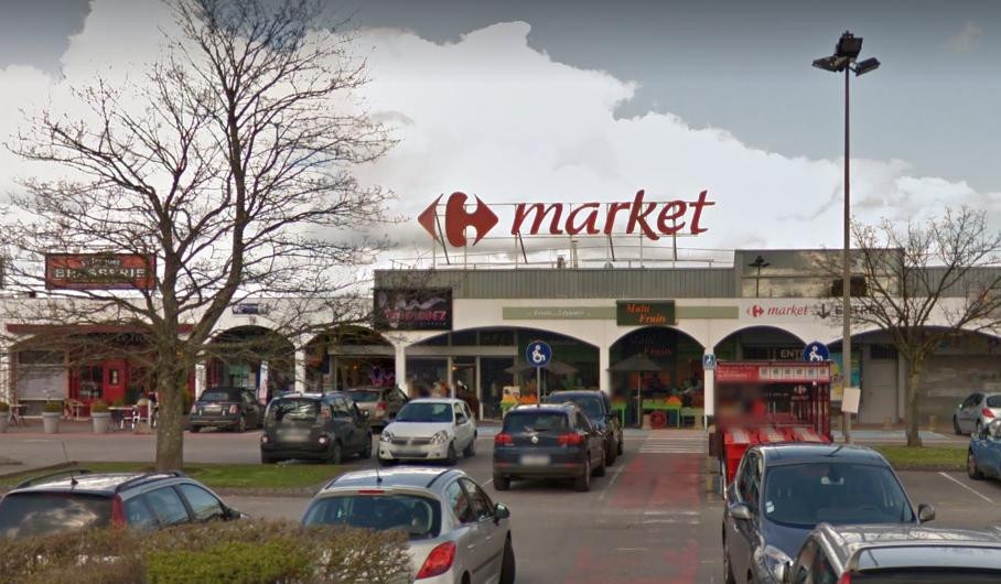 Le feu s'est déclaré dans un local électrique du supermarché (Illustration)