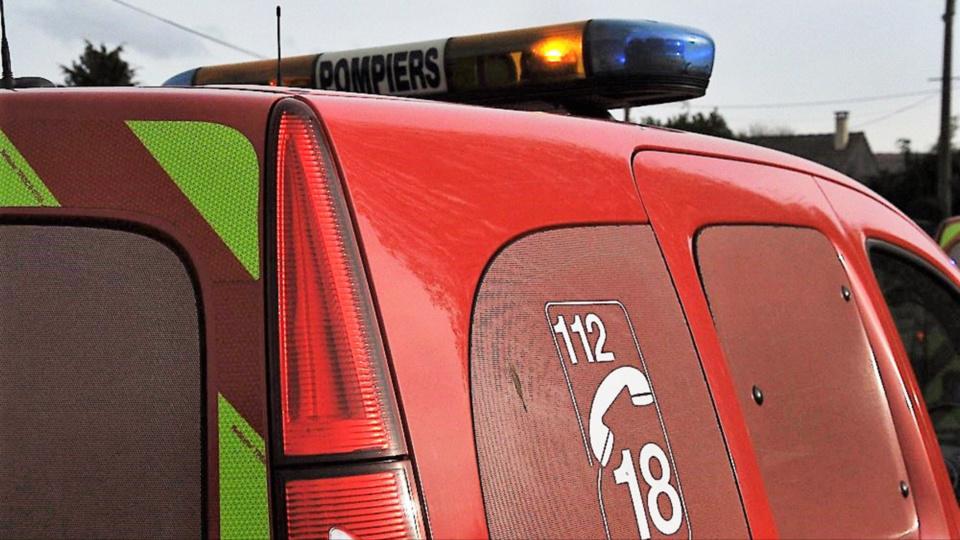 Les sapeurs-pompiers ont pris en charge les deux blessés (Illustration)