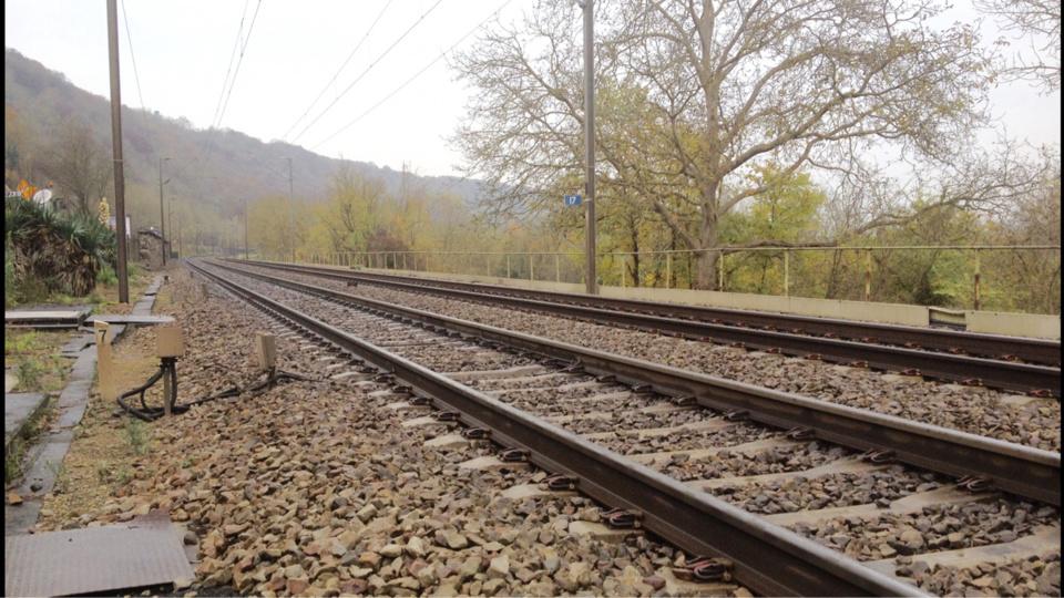 Le corps a été découvert par un cheminot entre les gares d'Achè_res et de Poissy (Illustration © infoNormandie)