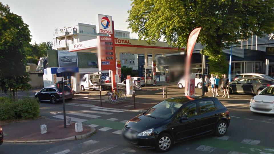 La station Total, avenue du Maréchal Foch (illustration @ Google Maps)