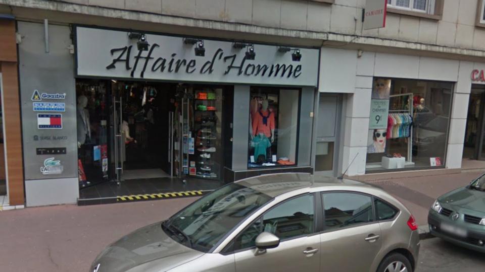 La vitrine de la boutique a été endommagée  (illustration @ Google Maps)