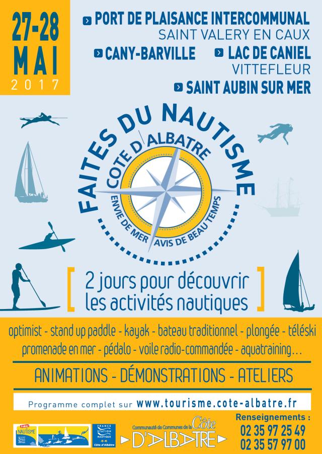 « Faites du Nautisme » ce week-end sur la côte d'Albâtre : le programme des animations en détail