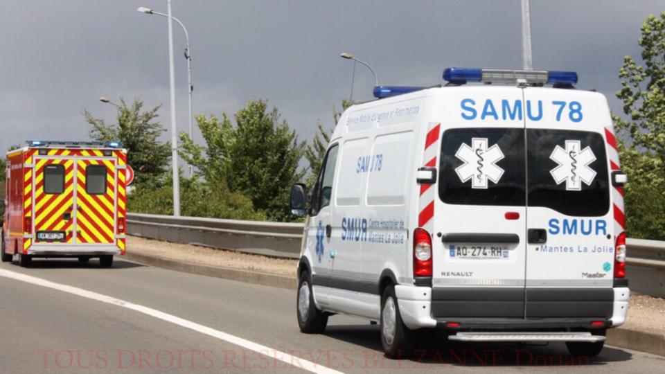 Blessé a la tête, le jeune homme a été transporté sous escorte policière à l'hôpital Foch (illustration)