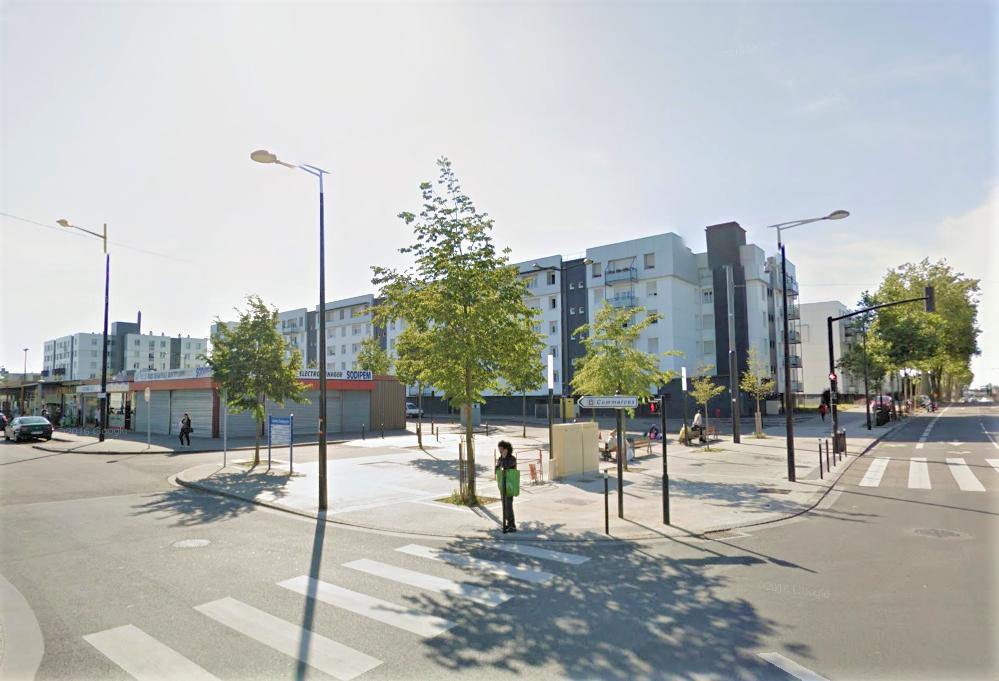 Le drame s'est déroulé dans un des immeubles bordant l'avenue du Bois au Coq, dans le quartier de la Mare aux Clerc (Illustration © Google Maps)