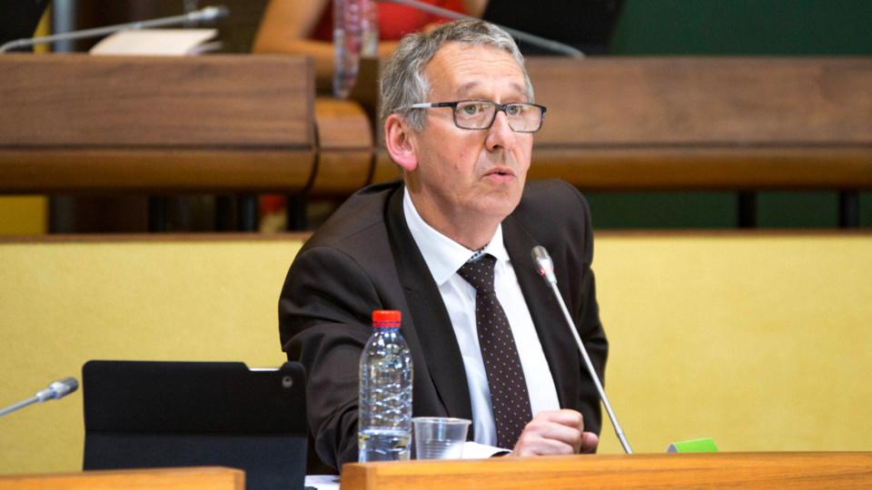 Pascal Lehongre, 57 ans, va succéder à Sébastien Lecornu nommé au gouvernement (Photo @Département 27)