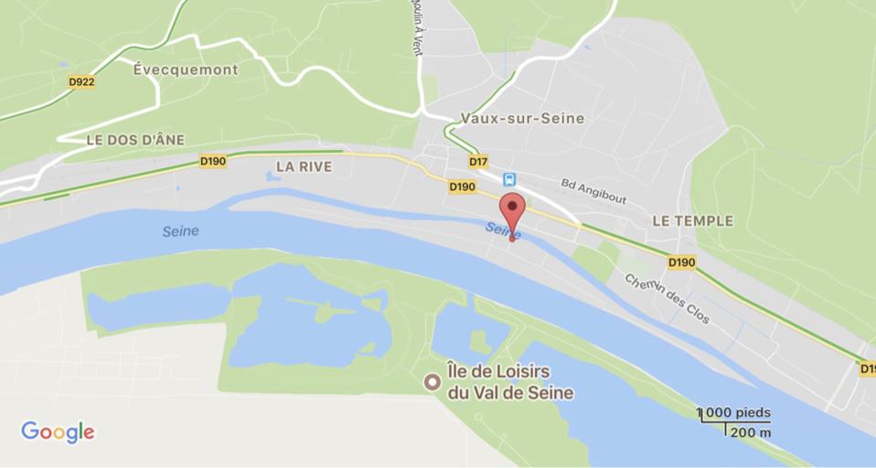 Yvelines : il s'automutile avant de se jeter dans la Seine à Vaux-sur-Seine