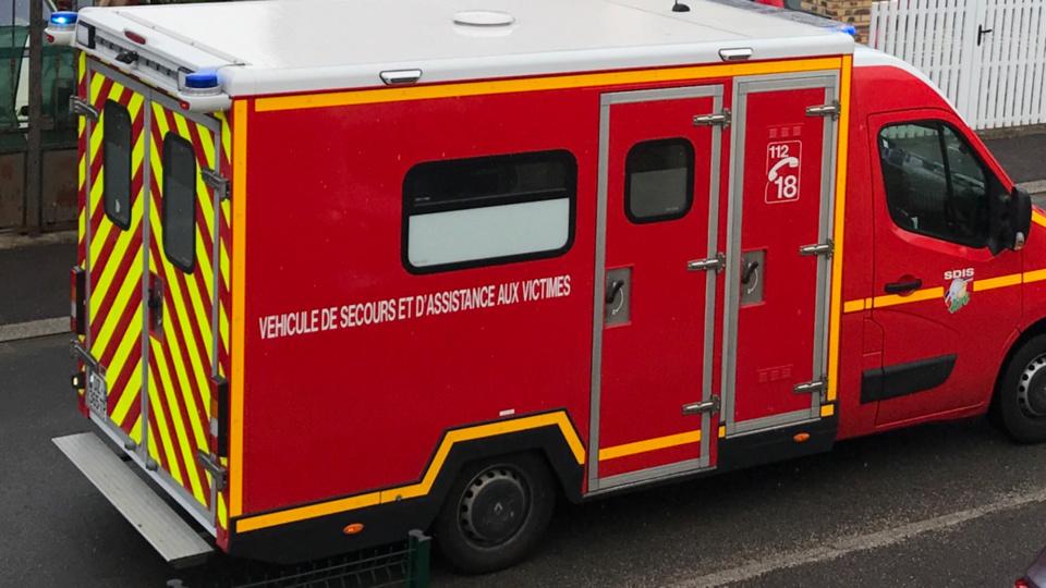 Le motard blessé a été pris en charge par les sapeurs-pompiers (illustration @infonormandie)