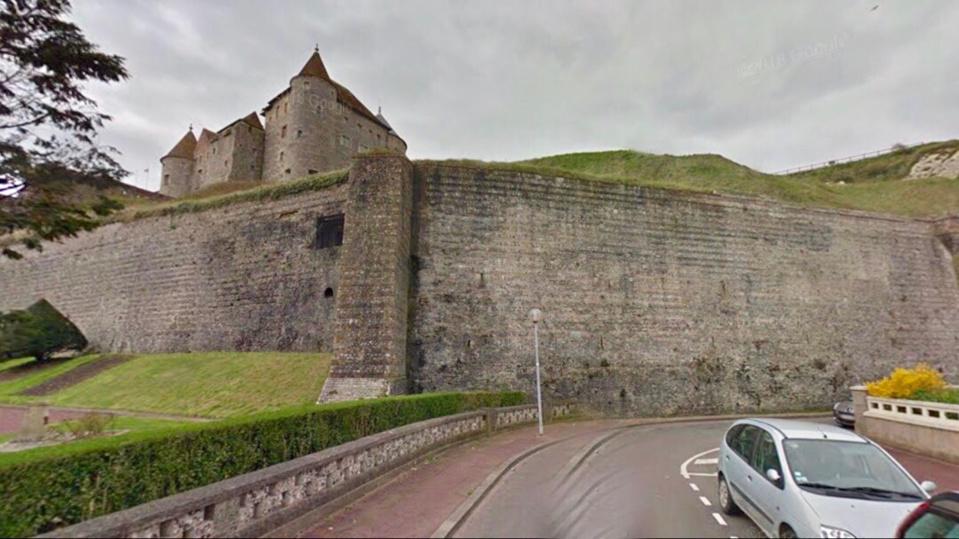 Dieppe : un homme grièvement blessé en tombant de 15 m près des remparts du château-musée