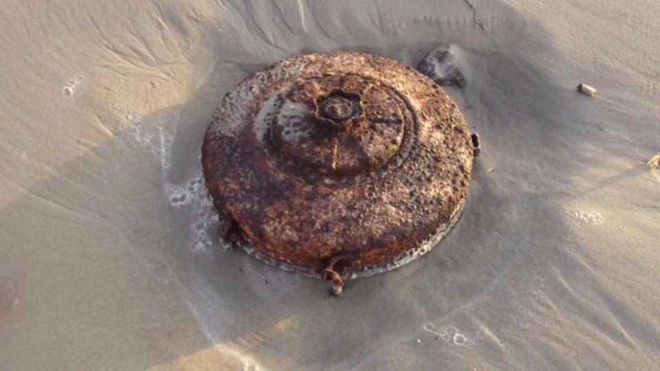 Il s'agissait de mines utilisées pour l'exercice (illustration)