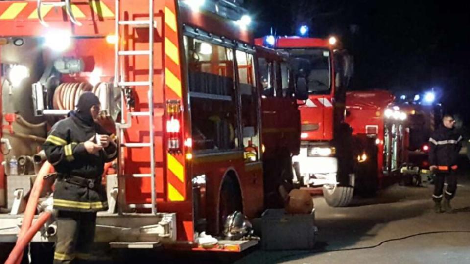 Les sapeurs-pompiers ont mobilisé cinq engins et une vingtaine d'hommes (Illustration ©infoNormandie)