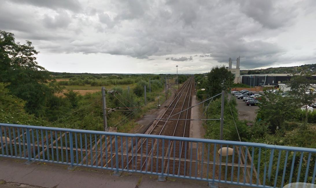 La ligne de fret entre Pont-de-l'Arche et Etrépagny « représente un véritable enjeu de développement économique et d'aménagement du territoire », estime la Région Normandie (Illustration)