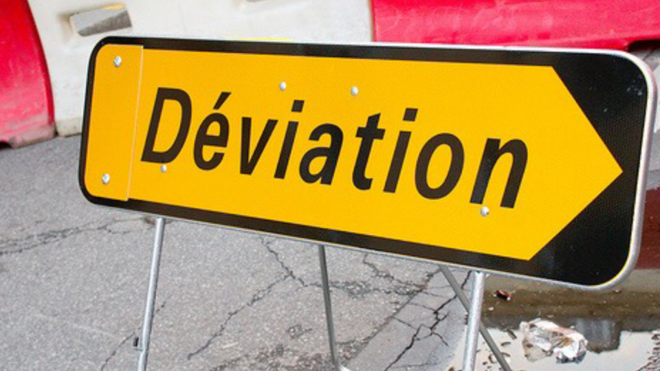 Des déviations sont mises en place pour une bonne partie de l'après-midi (Illustration © infonormandie)