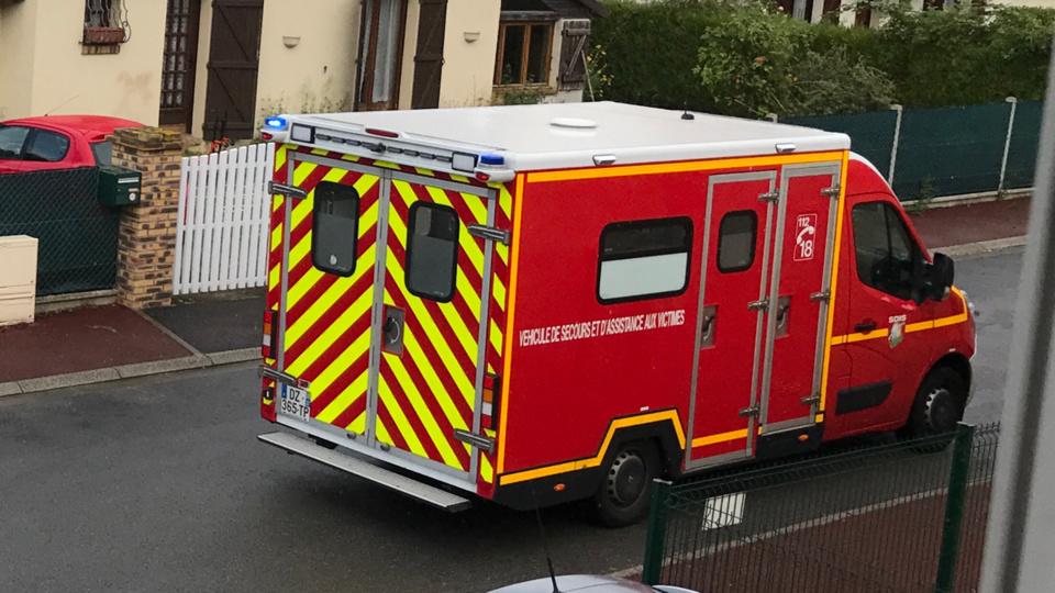 La conductrice blessée a été prise en charge par les pompiers (Illustration @ Infonormandie)