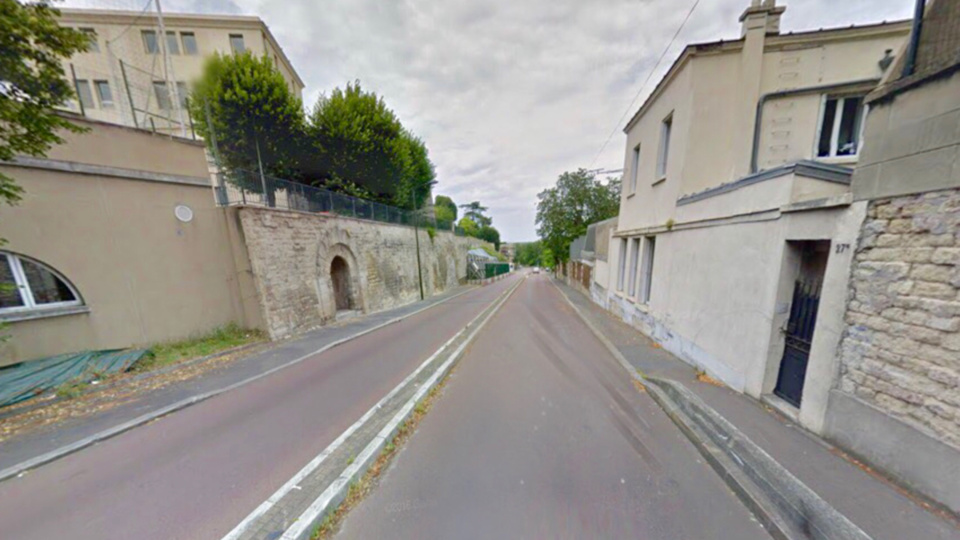 L'accident s'est produit à hauteur du 27 bis, de l' avenue de Lattre de Tassigny dans la descente vers le Pecq (illustration)
