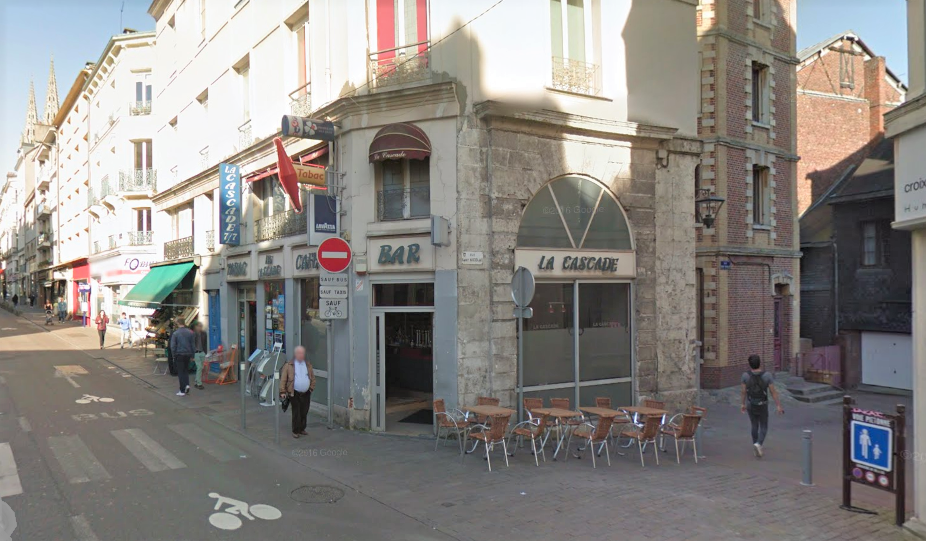 La bagarre a éclaté rue de la République, à proximité du bar La Cascade (Illustration)