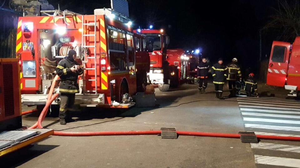 La maison s'est effondrée lors de l'intervention des pompiers (Illustration)