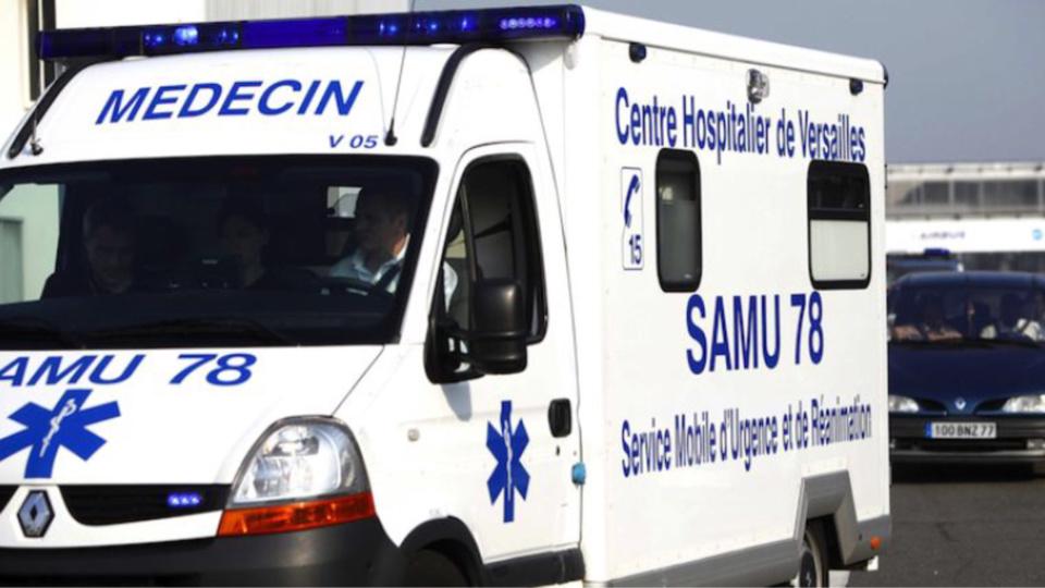 Le blessé a été transporté à l'hôpital par le SMUR (Illustration)